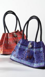 Hippy Bag~Ethnic Indian Antique Tribal Design Shoulder Bag Small~Fair Trade by Folio Gothic Hippy SB204